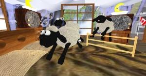 Interactive sheep